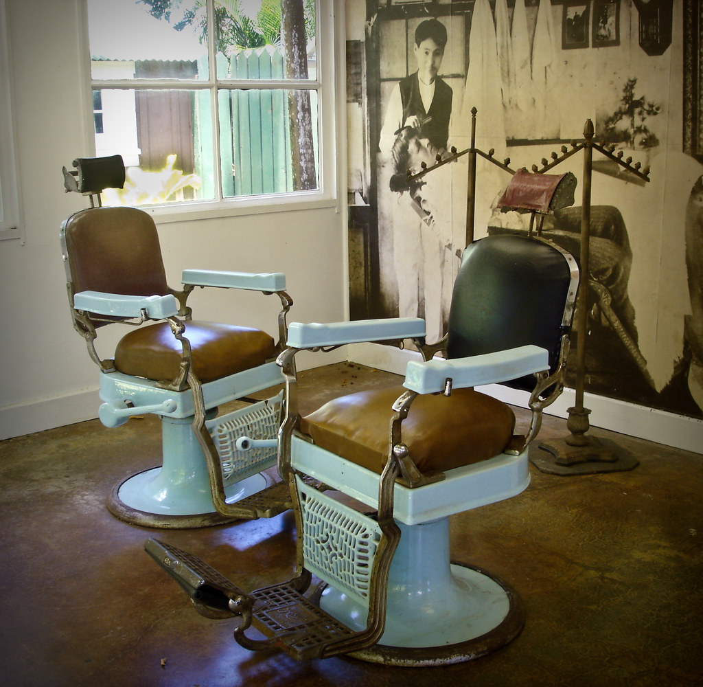 Vintage Barber Shop On Kauai J B Flickr