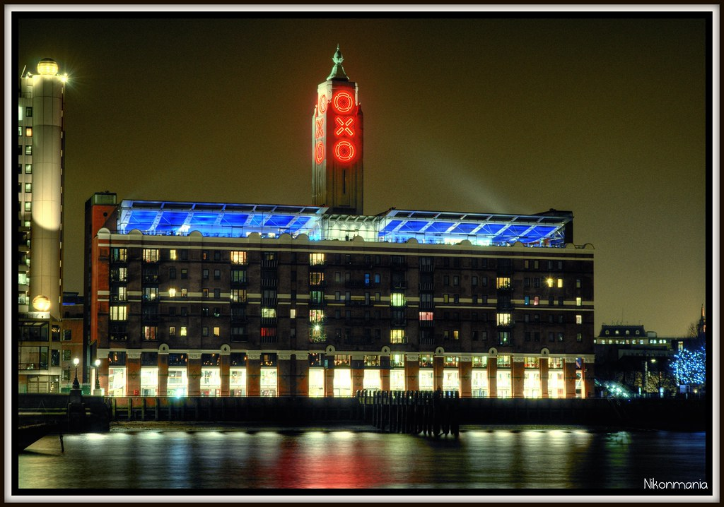 Oxo Tower In London The Oxo Tower Is A Building With A