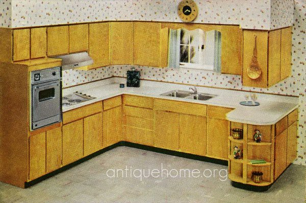 1960 Kitchen | Aladdin House Plans from 1961-1962 on ...