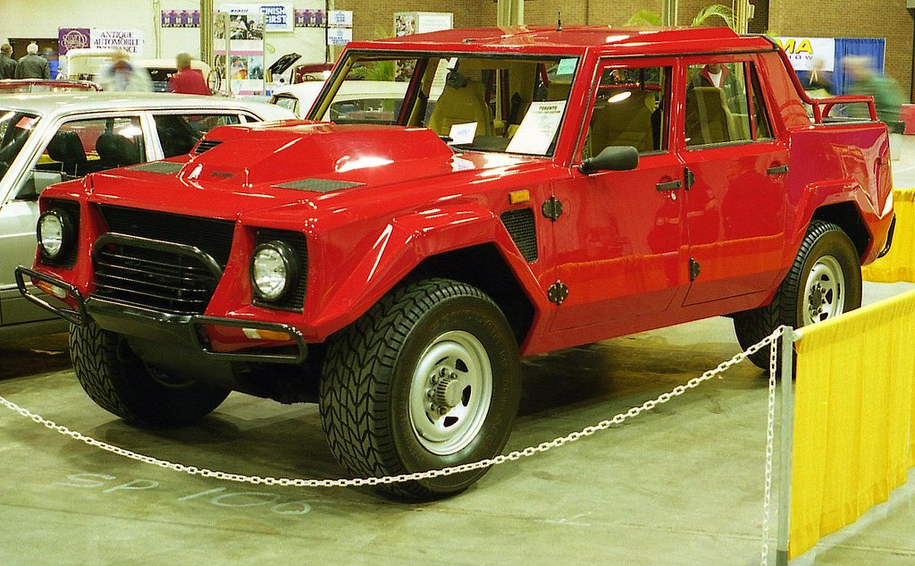 1985 Lamborghini LM 4X4 Not Sure Of The Year Flickr