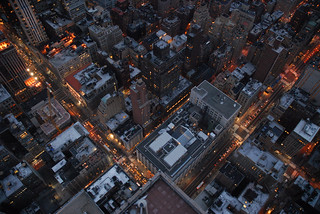 empire state looking down | by Zemlinki!