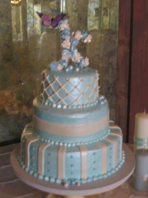 Spray Cake Topper