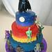Batman gotham city cake