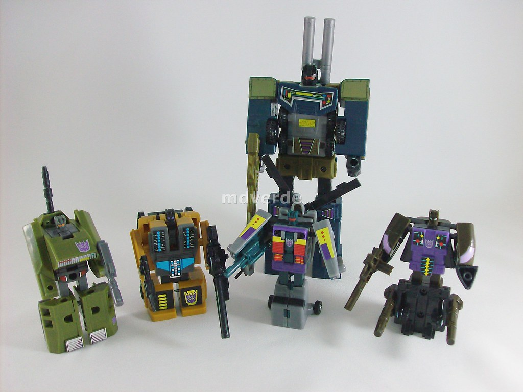 transformers combaticons g1 encore modo robot nombre