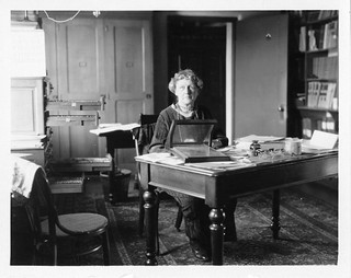 Annie Jump Cannon (1863-1941), sitting at desk | by Smithsonian Institution