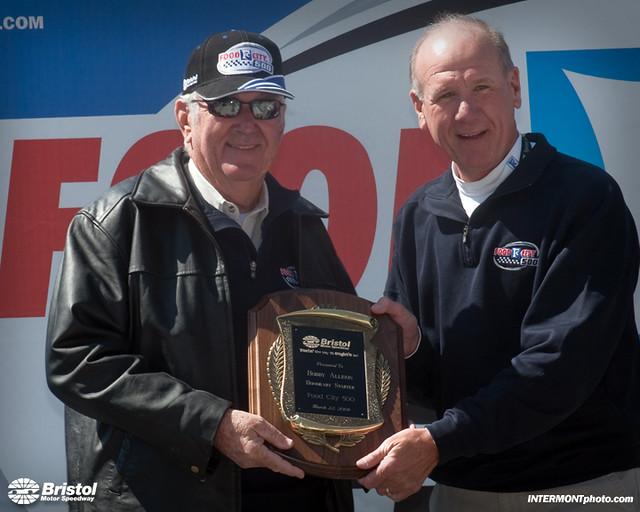 Bobby Allison Fc 500 Honorary Starter Bristol Motor