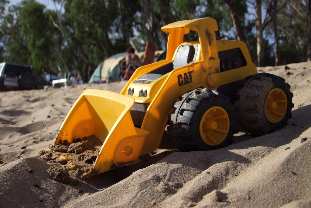Cat Digger Toy Asda