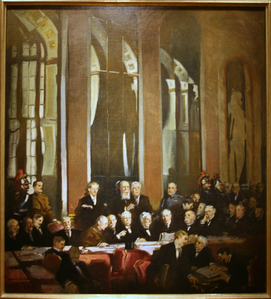 the treaty of versailles and congressional resistance