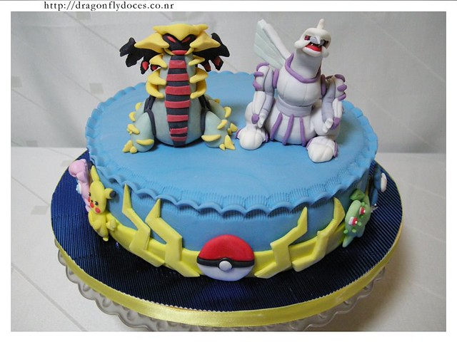 pokemon cake bolo another pokemon cake this time with g flickr. Black Bedroom Furniture Sets. Home Design Ideas