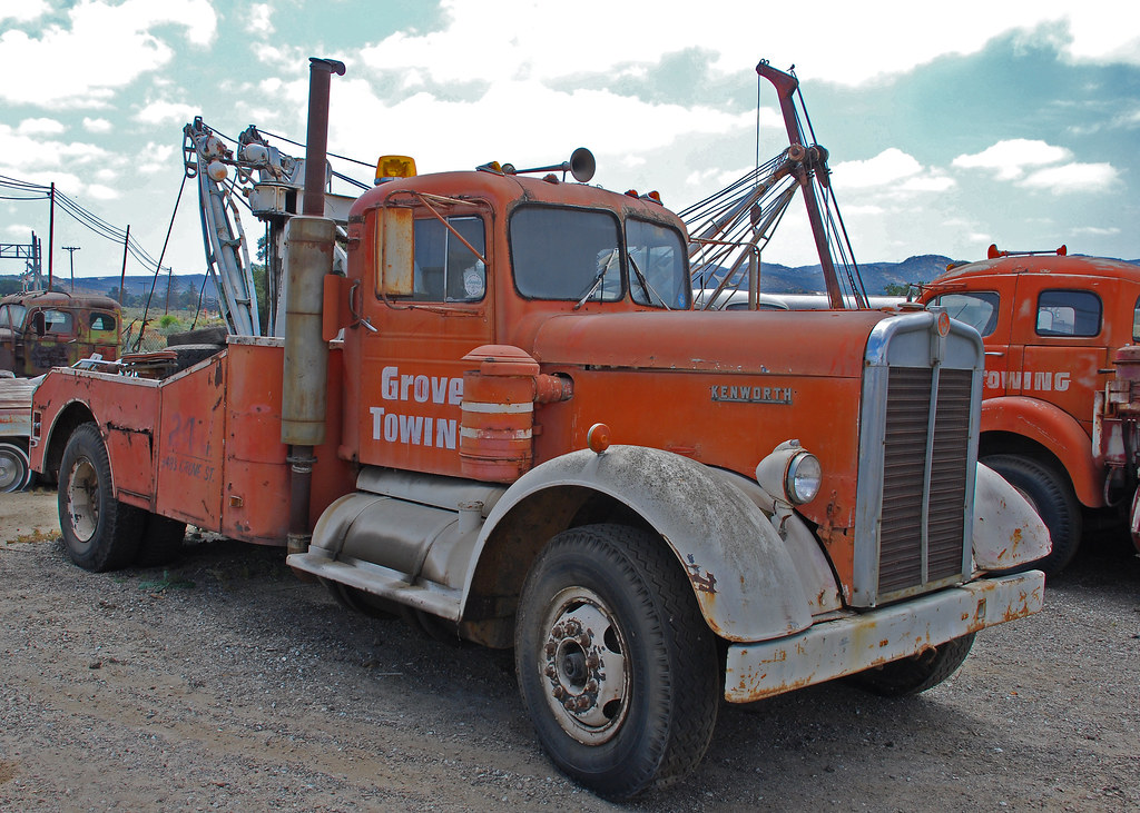 Kenworth Tow Truck | Kenworth tow truck at the Motor ...