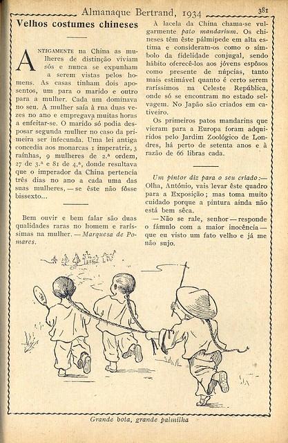 Almanaque Bertrand, 1934 - 73