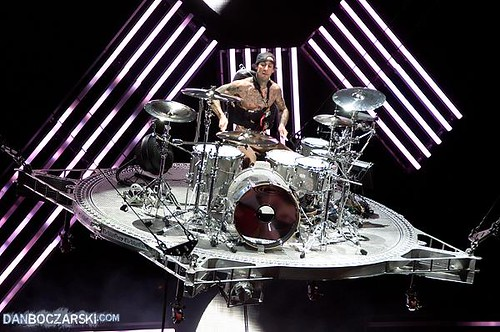 Travis Barker of Blink...