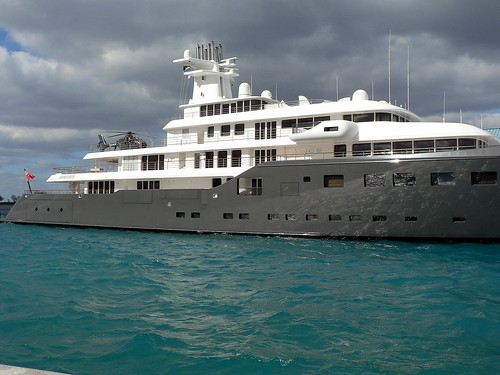 Ice Yacht Docked In Nassau Bahamas Jan 2009 Flickr