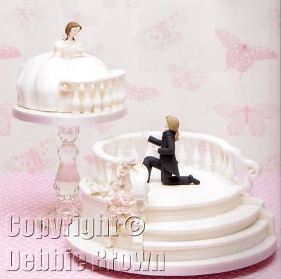 dream wedding cake from wedding cakes debbie brown s 13745