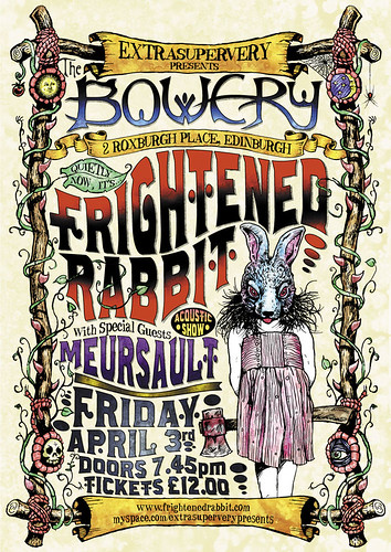 Frightened Rabbit Poster | by post-everything