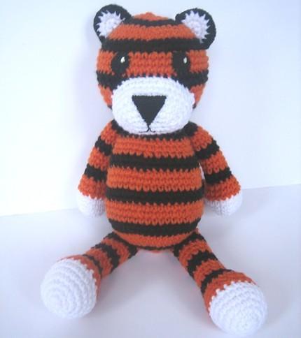 Crocheted tiger My newest crochet pattern :) Anna Flickr