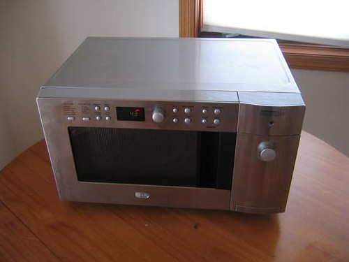 LG microwave oven/toaster combo Trixie Morgan Flickr