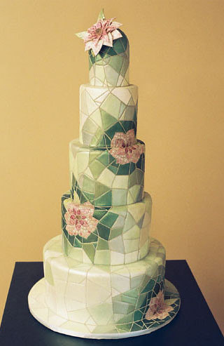 Tattoo Inspired Wedding Cakes