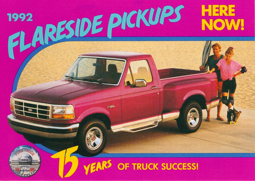 New Ford F150 >> 1992 Ford Flaresid F150 75th Anniversary Truck   coconv ...
