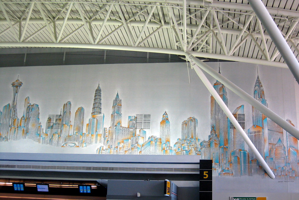 New Golf R >> NYC: JFK Airport - Terminal 8 - Skyline of the World | Flickr