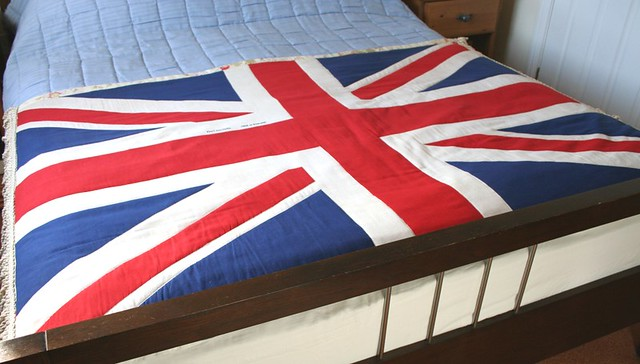 Finished Vintage Union Jack Flag Quilt   This is the finshed…   Flickr : union jack quilt - Adamdwight.com