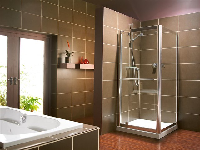 Simply Pivot door (luxury shower enclosures) | A classic yet… | Flickr