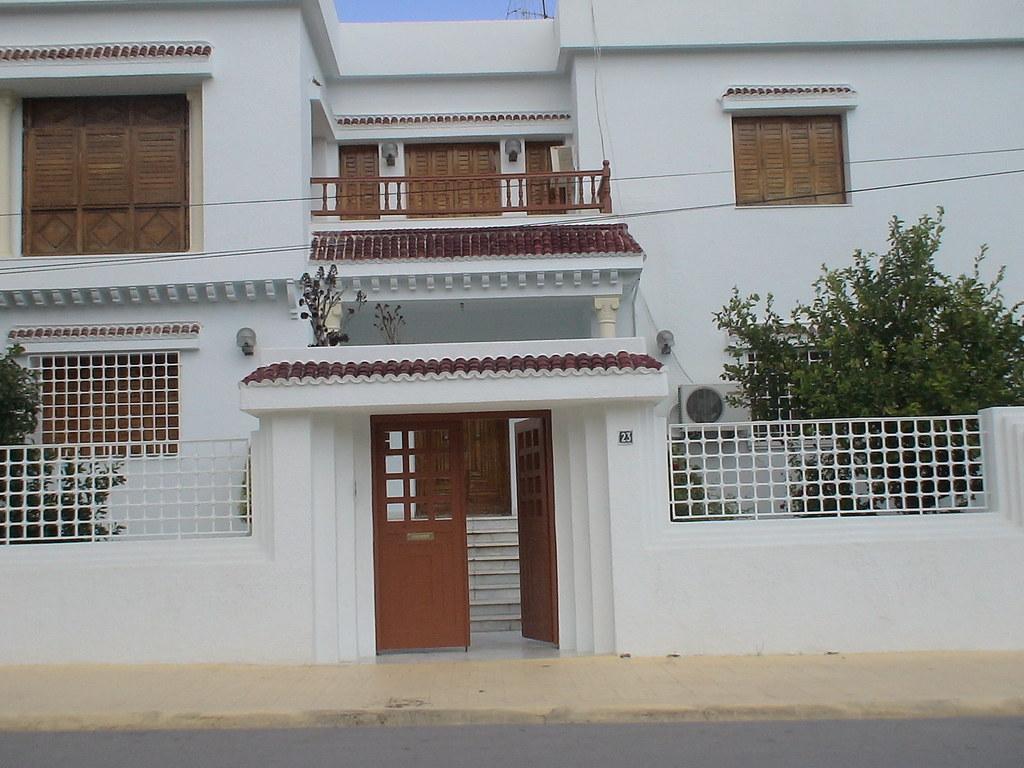 Porte ext rieure en fer forg tunis maisons citizen59 - Porte bois fer forge ...