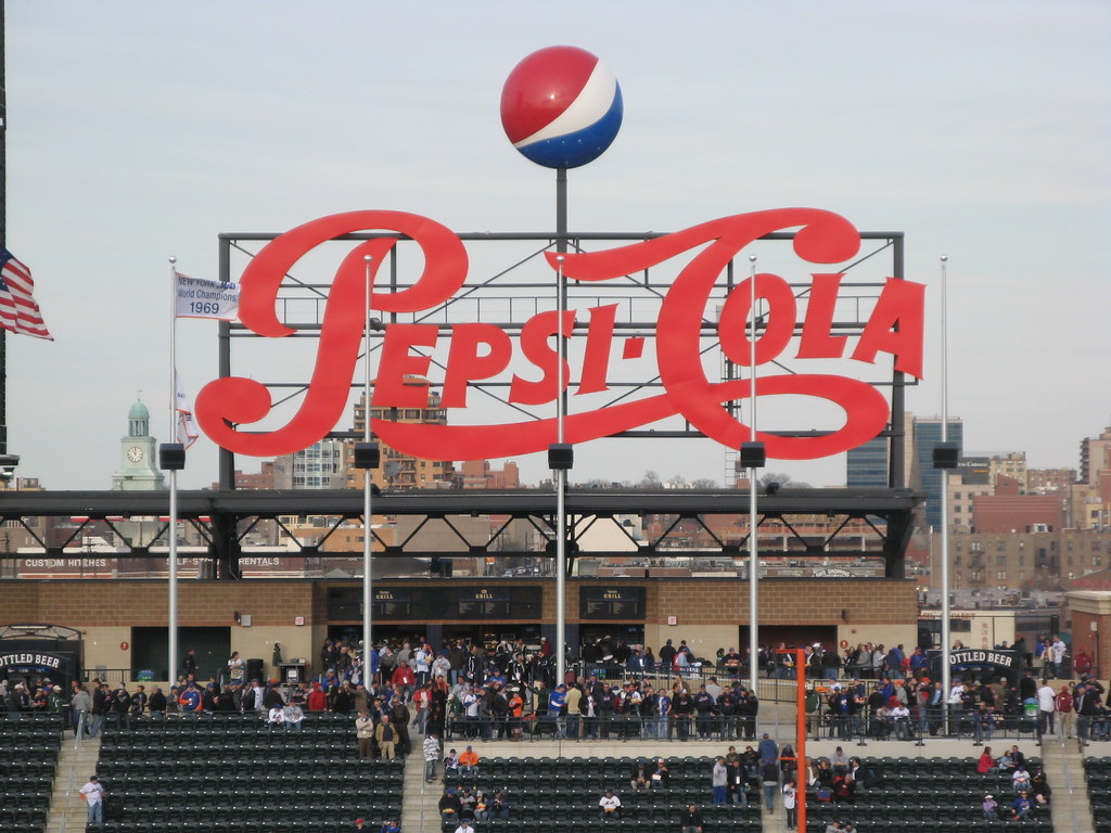 Straight On View Of The Quot Pepsi Porch Quot At Citi Field 04 13