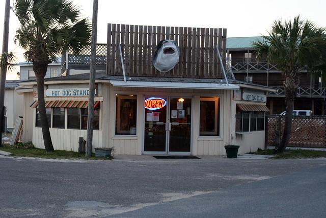 Keaton Beach Hot Dog Stand