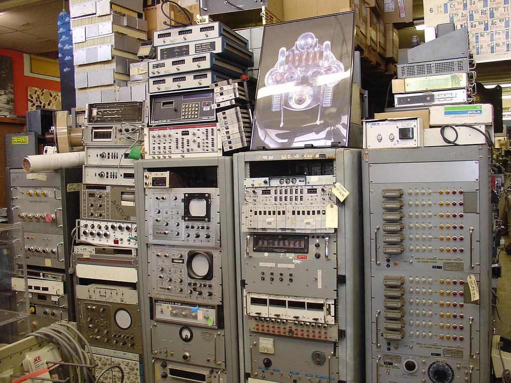 Test Equipment Racks : Racks and electronic test equipment jeff keyzer flickr