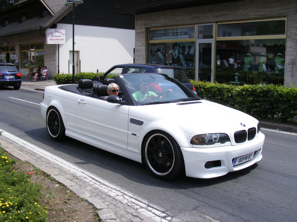 bmw e46 m3 optik cabrio wei white mycedes flickr. Black Bedroom Furniture Sets. Home Design Ideas