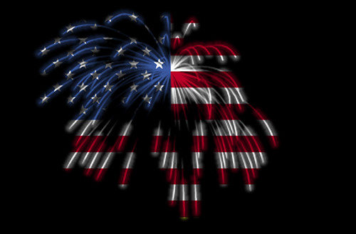 Happy 4th of July! The American Flag in Fireworks | by Beverly & Pack