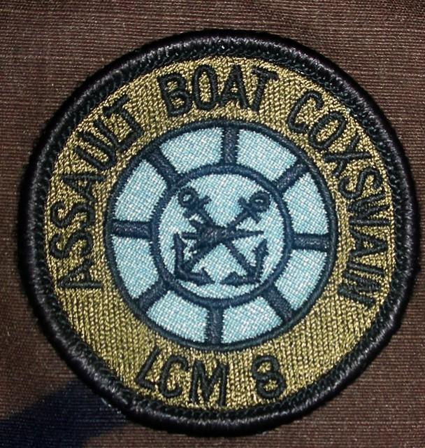 Amphibious Forces Patch Display Recognition