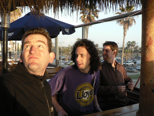 Sam, Mason, and Bernie in San Diego: INSNA Sunbelt 2009 | by Marc_Smith