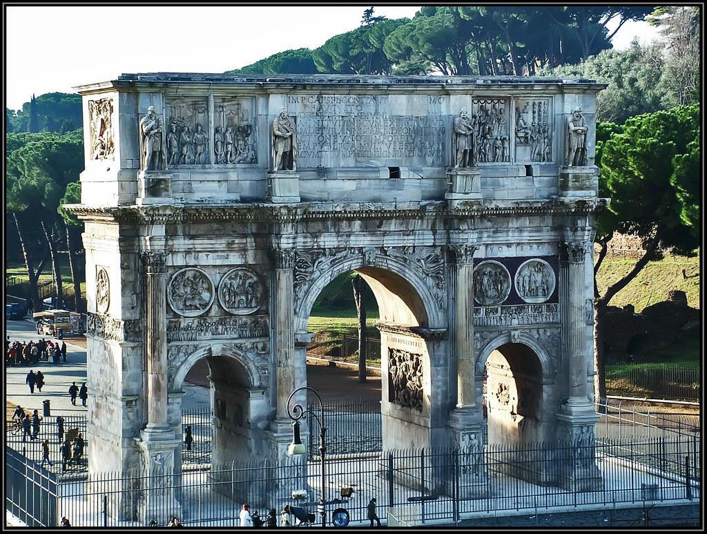 Arco de Trajano (Roma)  Carmen  Flickr
