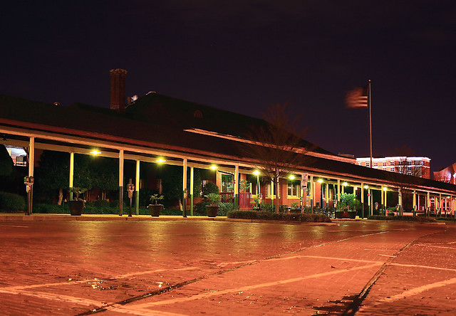 old columbia passenger train station