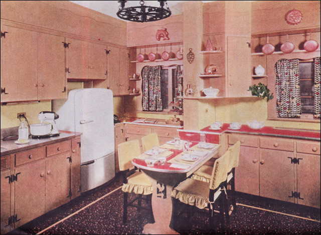 ... 1950s Early American Style Kitchen | By American Vintage Home