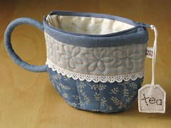 TeaCup pouch 96 | by PatchworkPottery