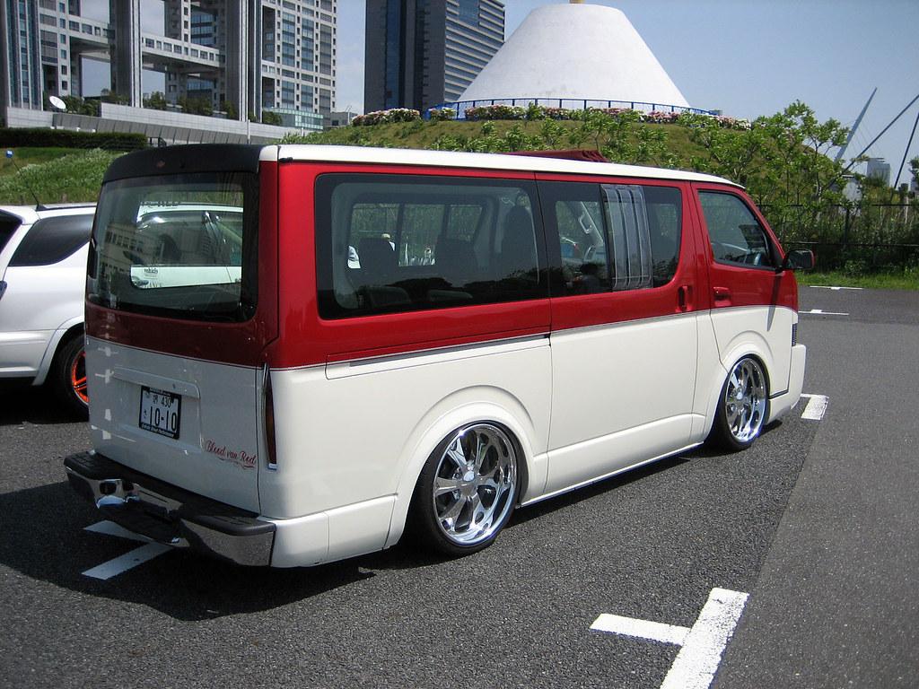 Toyota Hiace Paint Jobs