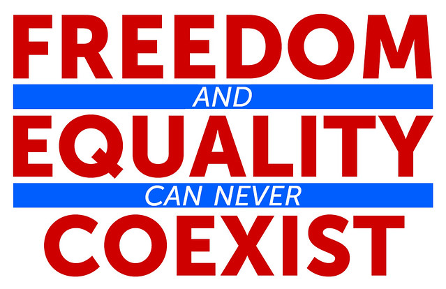freedom and equality Democratic values — liberty, equality, justice  democratic values support the belief that an orderly society can exist in which freedom is preserved but order.