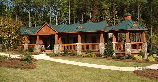 Modular Building With A Log Cabin Feel
