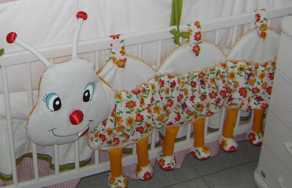 Шьем бортики на детскую кроватку