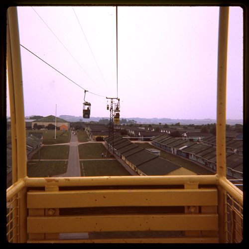 Butlin's Filey - the chair lift, probably 31 August 1973 | Flickr ...