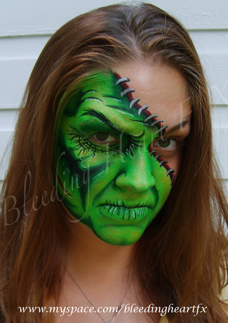 Face Painting Zombie Pictures
