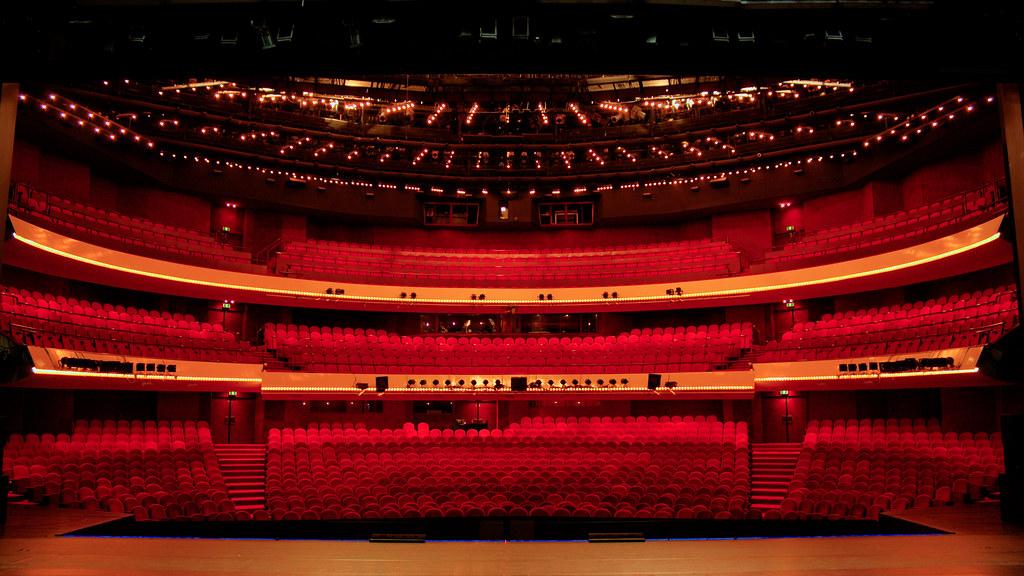 Muziektheater Amsterdam Venue Hdr Pi Flickr