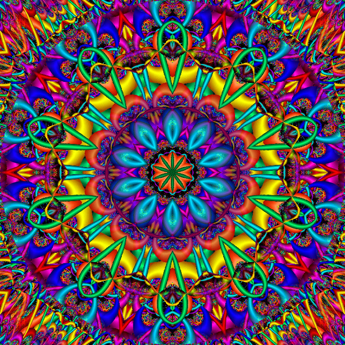 Calamity Kaleidoscope Created With Gimp 26 Flickr