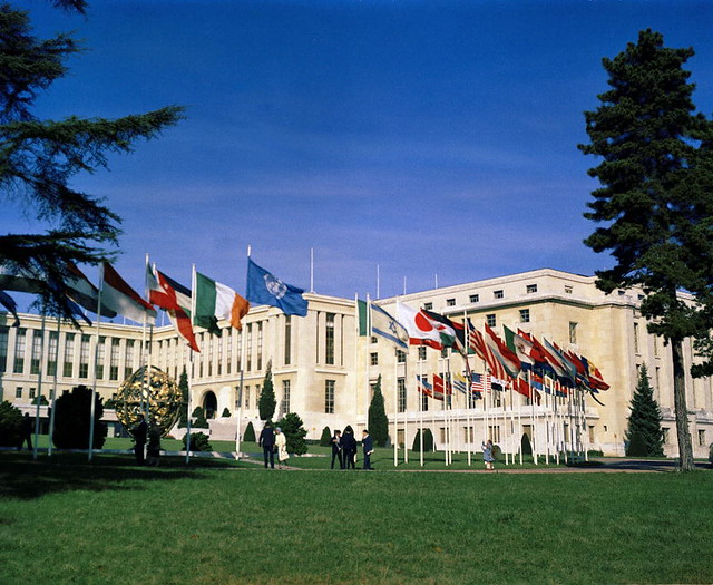Palais des Nations, Geneva | This is a view of the Palais ...