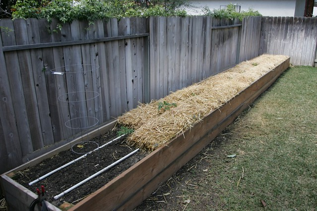 Rear bed New for 09 3x32 raised bed with dedicated