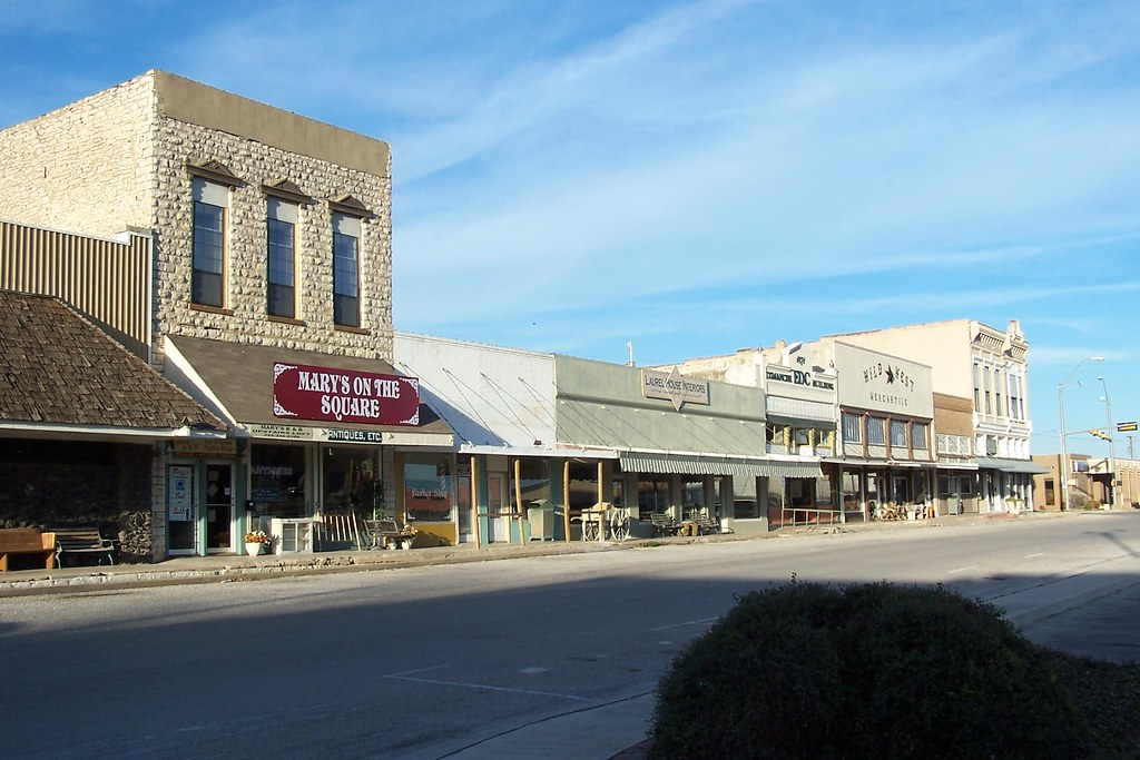 beautiful downtown comanche texas comanche is the