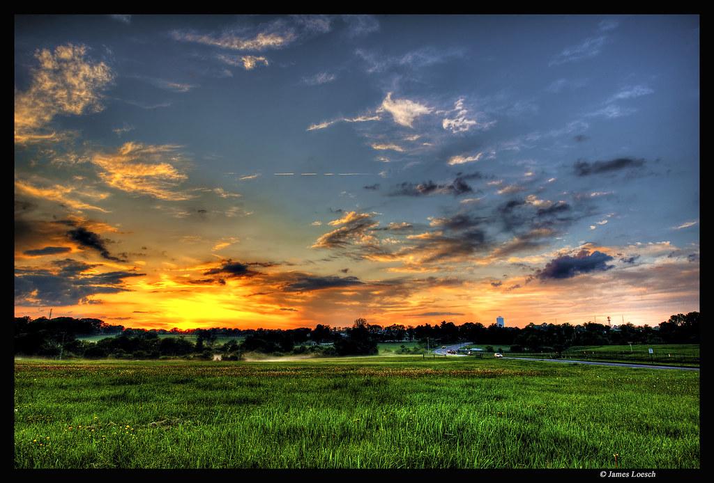 Sunset over Jones Farm | West Trenton NJ, Jones Farm I ...